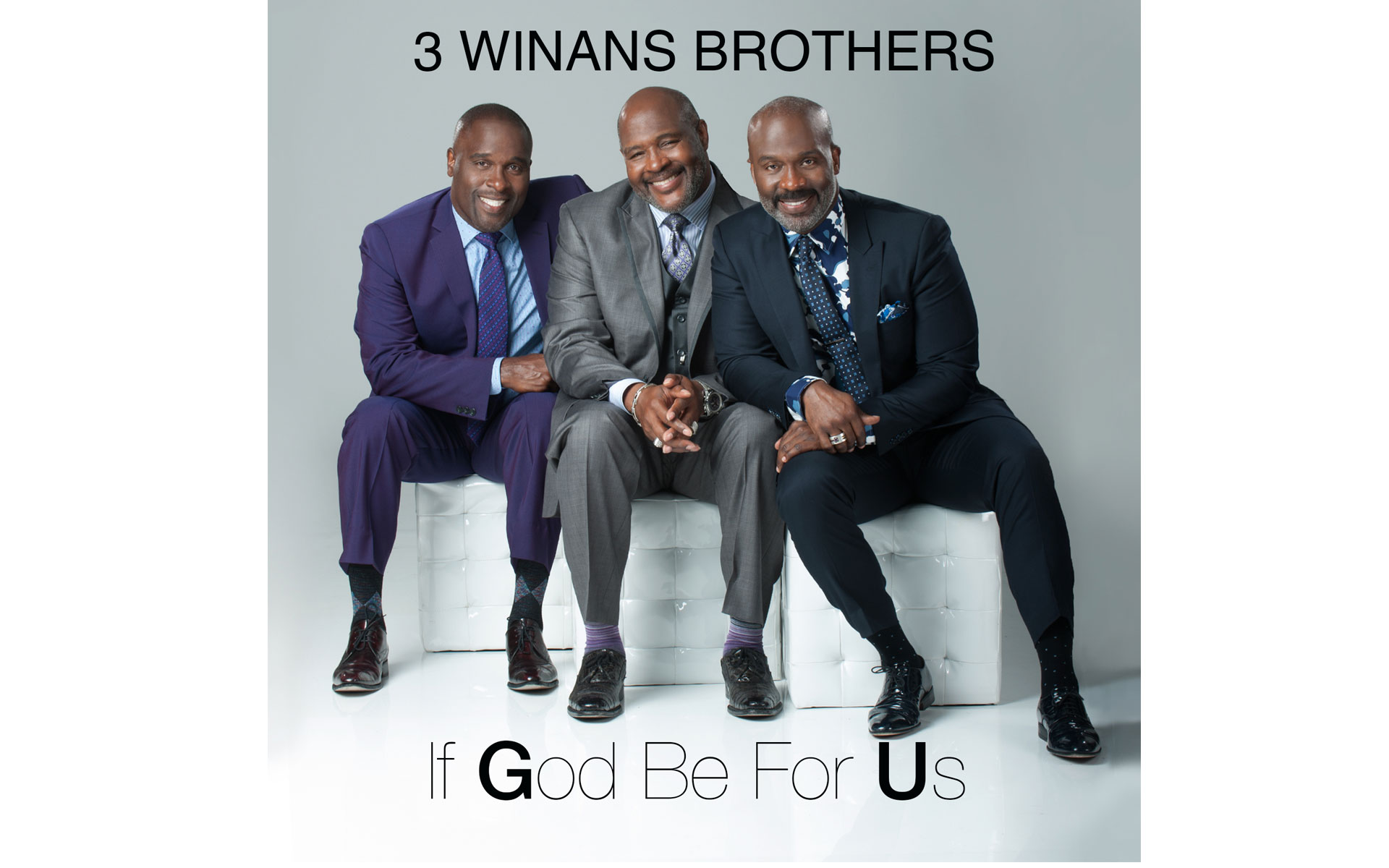 "Single Cover ""If God Be For Us"" 3 Winans Brothers"